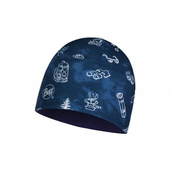 MICRO & POLAR HAT CHILD FUNNY CAMP NAVY